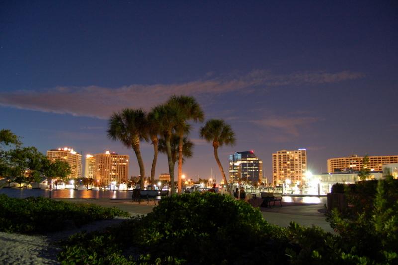 Downtown Sarasota Night